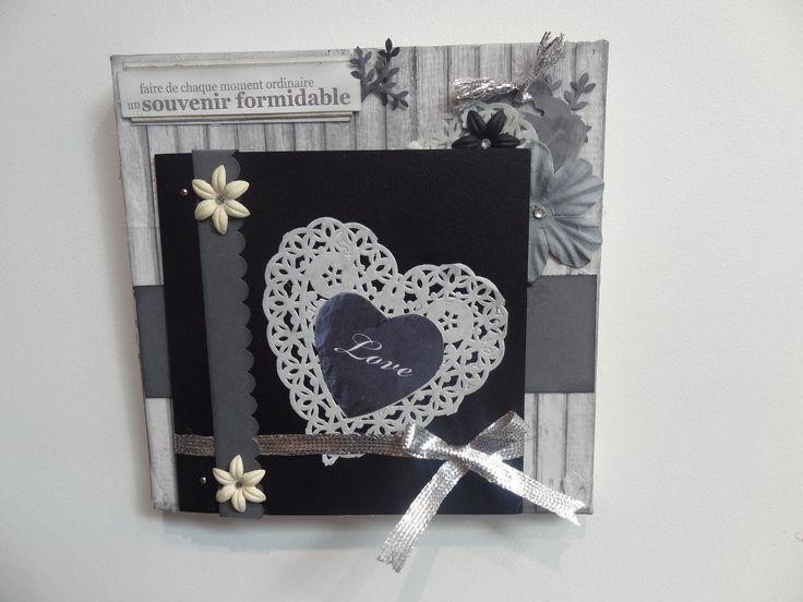 perforatrice bordure festonn e de chez stampinup tableau. Black Bedroom Furniture Sets. Home Design Ideas