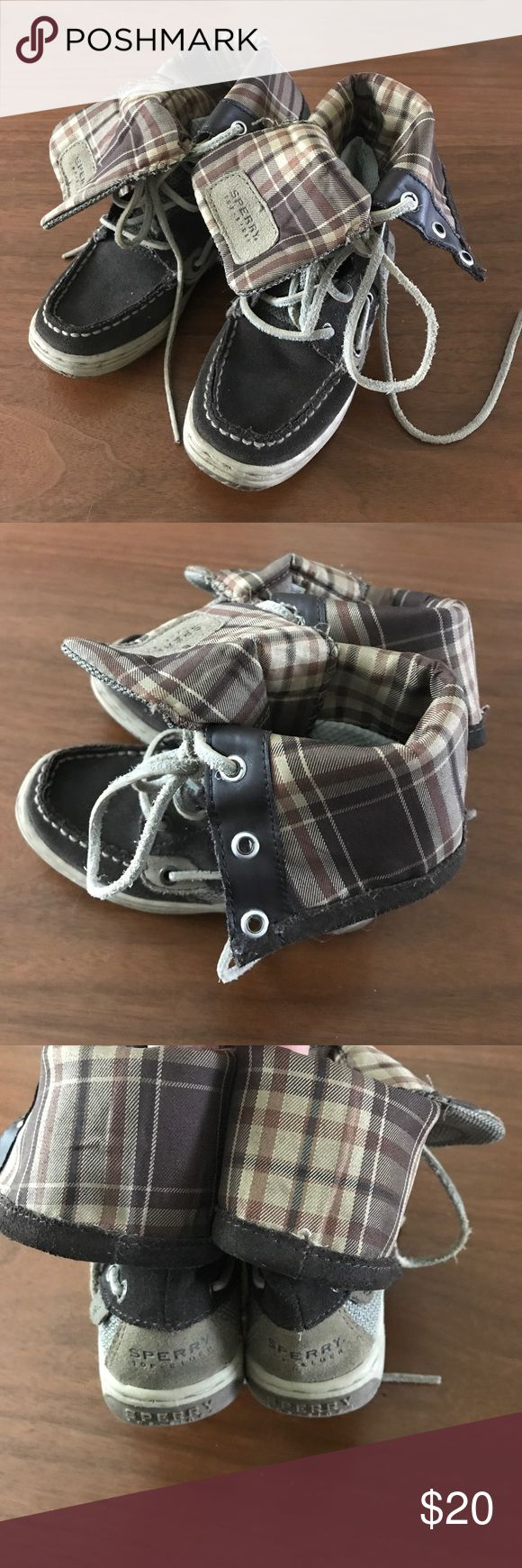 Boys Speedy top sides boots Cute boots, good used condition.  Bundle for a discount Sperry Top-Sider Shoes Boots
