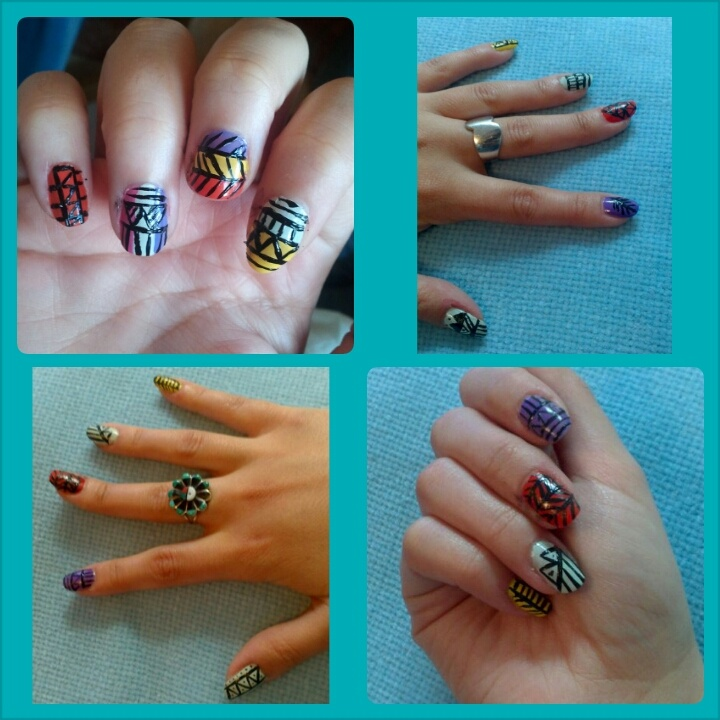 Ethnic or tribal nails