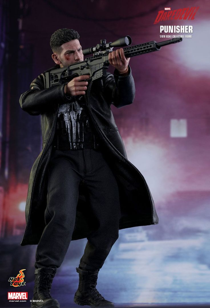 Hot Toys : Marvel's Daredevil - Punisher 1/6th scale Collectible Figure