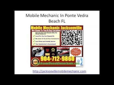 Mobile Mechanic Ponte Vedra Beach Florida auto car repair service shop review that comes to you call 561-693-1700 http://www.youtube.com/watch?v=5X5XECdx2k0