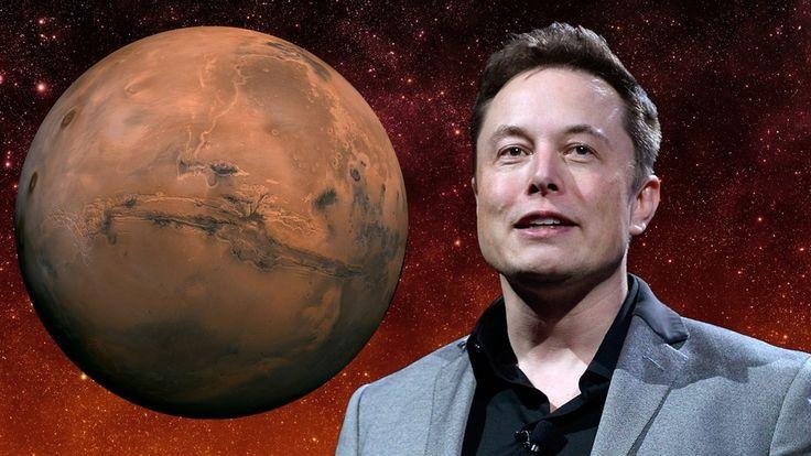 Elon Musk, SpaceX, CEO of SpaceX, Mars, ElonMusk, Photos of Elon Musk, Elon Musk Mars HD Background