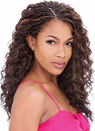 Model Model Bulk Twin Deep Braiding Hair