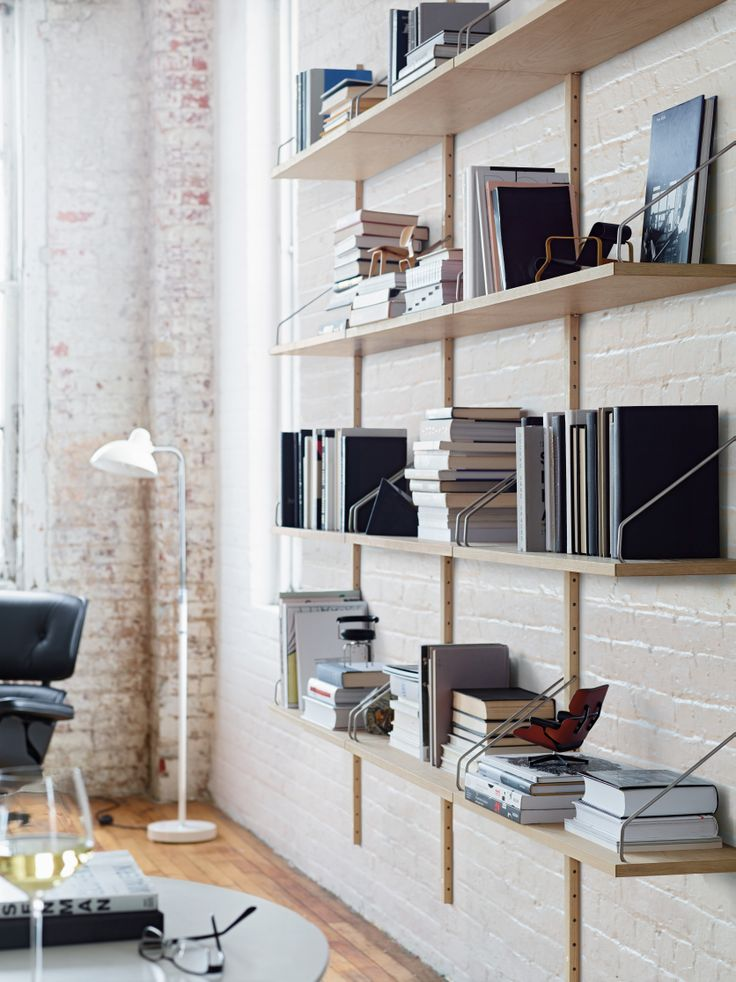 How do you like to store?  Royal System Shelving | Designed by Poul Cadovius