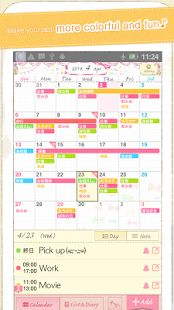 Coletto calendar~Cute diary - screenshot thumbnail