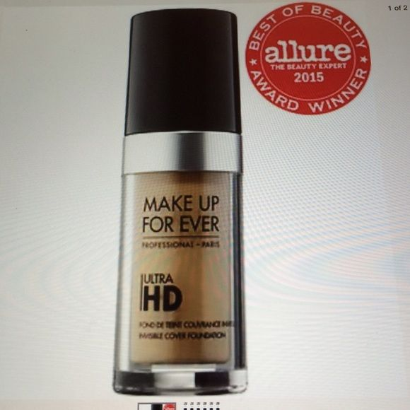 Makeup Forever HD ultra foundation A bestselling HD foundation that appears more…