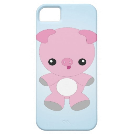 Funny Baby Pig iPhone case by Rooshoo!