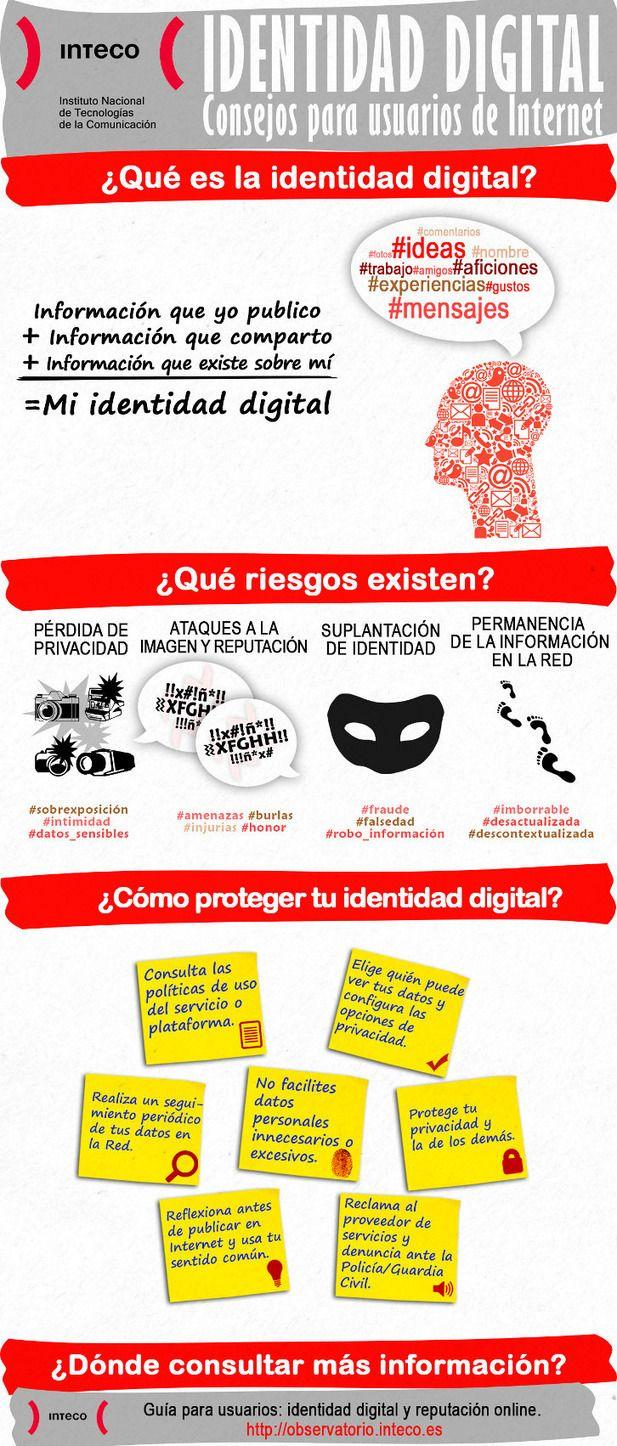 Construye tu identidad digital : INTECO