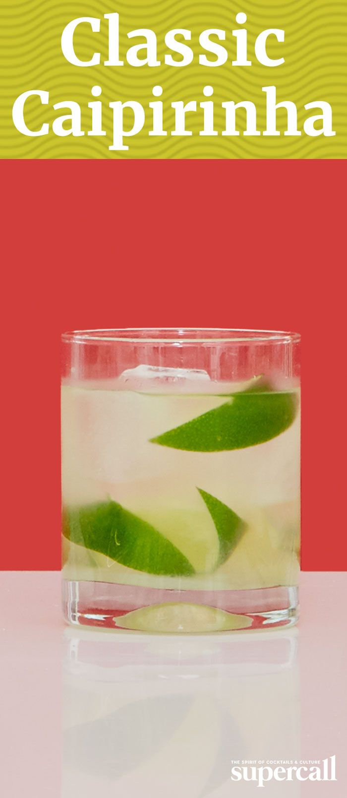 INGREDIENTS: 2OZCACHAÇA  HALF A LIME, CUT INTO WEDGES  2BAR SPOONS OF SUGAR (APPROXIMATELY 2 TSP)