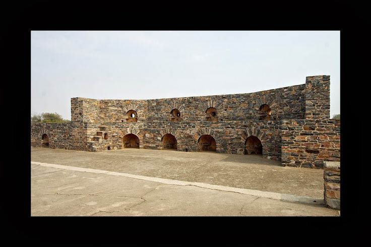 The mighty walls that have protected #CastleKanota Nr. #Jaipur #Rajasthan still stand tall and firm! A perfect #RareIndia #DelhiGetaway!   #Explore More: http://bit.ly/1mFO4BT