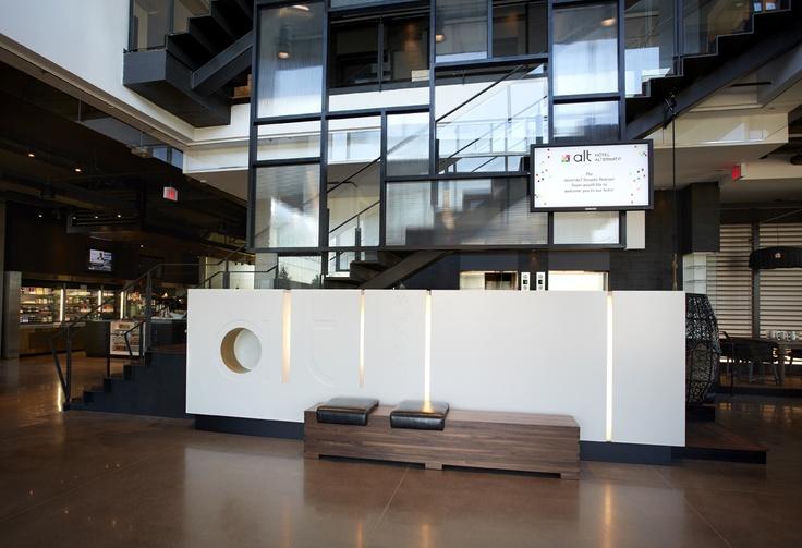 LEMAYMICHAUD | ALT | Toronto | Pearson Airport | Architecture | Design | Hospitality | Lobby | Entrance | Seating |