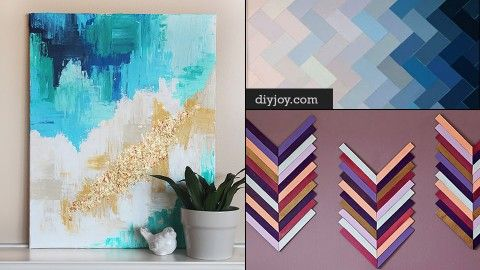 76 Brilliant DIY Wall Art Ideas for Your Blank Walls | DIY Joy Projects and Crafts Ideas