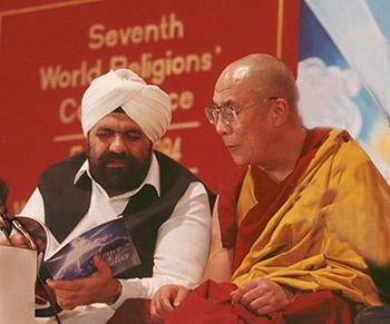 HH Sant Rajinder Singh Ji Marahaj & HH the Dalai Lama