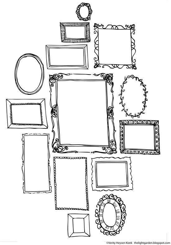 Free print-outs, great for free time in art room