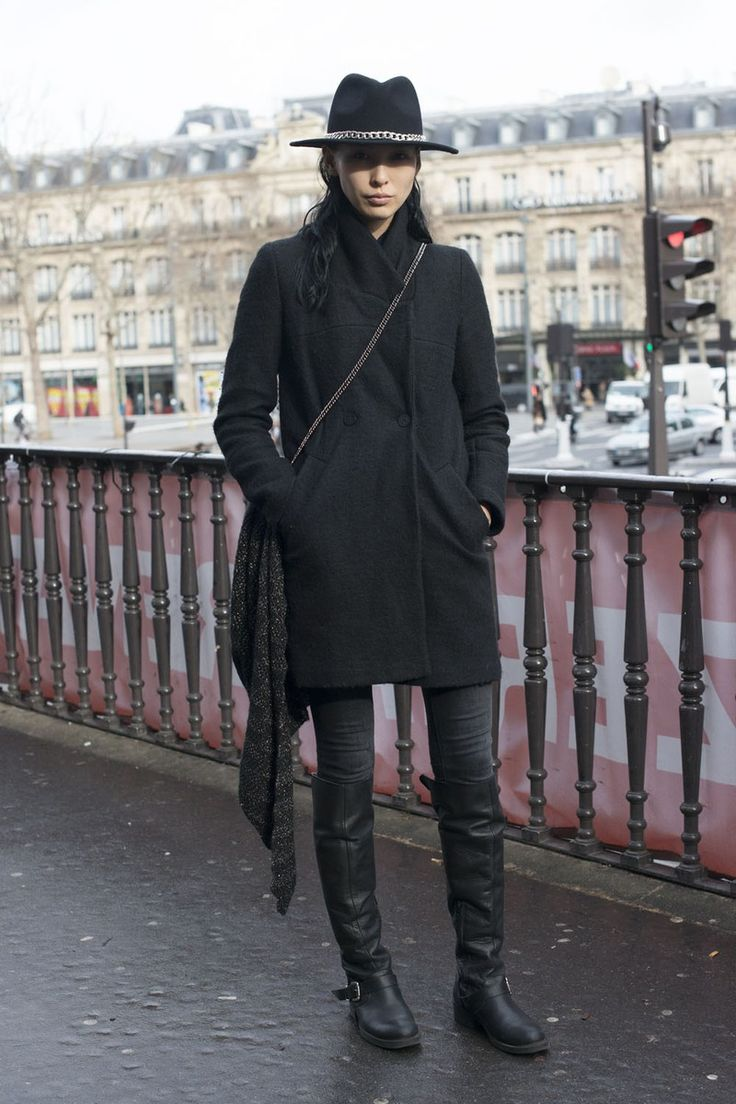 fabulous all black outfit inspo 8