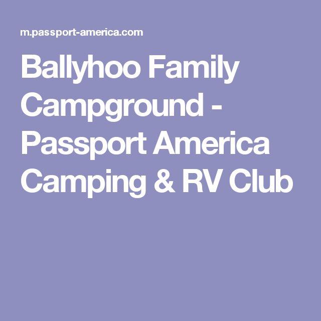 Ballyhoo Family Campground - Passport America Camping & RV Club