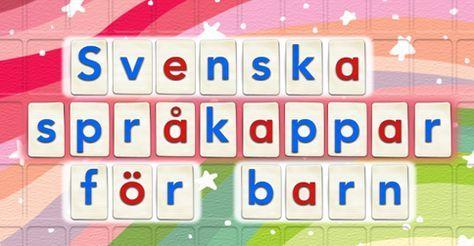 Svenska språkappar för barn | Språkträning En suverän sammanställning på PappasAppar