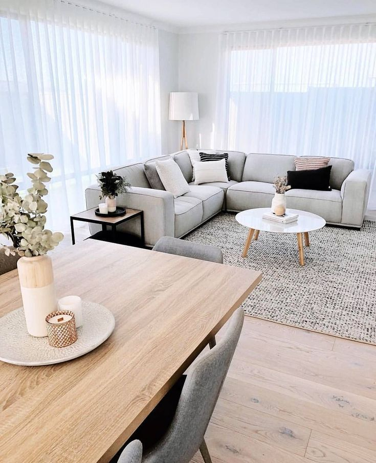 Today's inspiration for the living room! How do you like it? .. Today's inspire