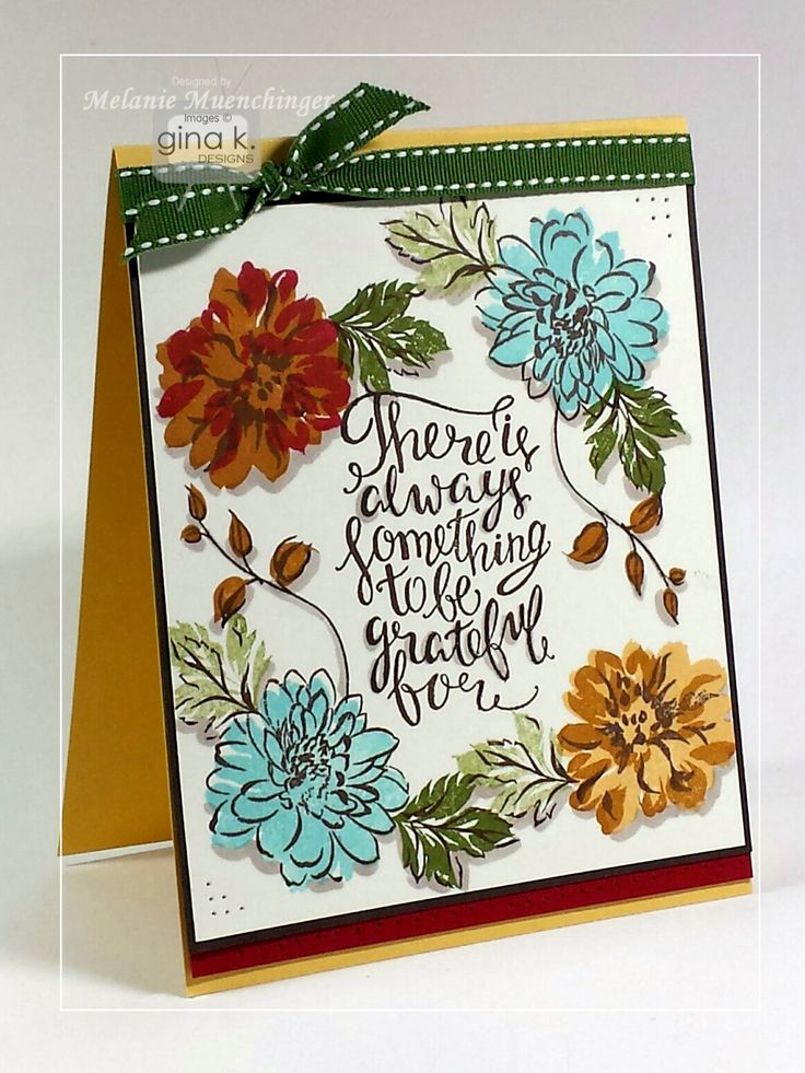 Exceptional Card Making Ideas Gina K Part - 5: Card My Melanie Muenchinger For Gina K. Designs