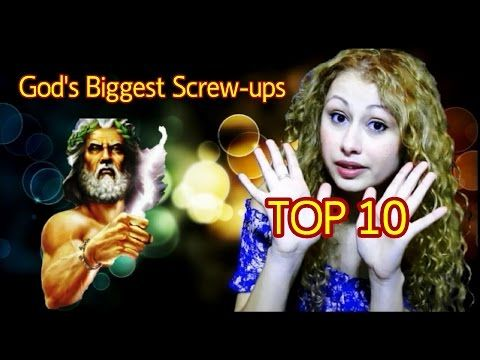 God's TOP 10 Biggest Screw-Ups - LOL...religion is for those that don't think things through