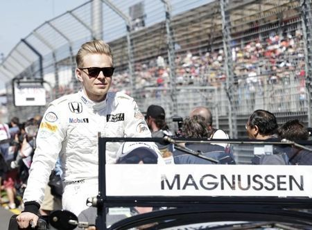 McLaren reserve driver Kevin Magnussen will be absent from this weekend's Singapore Formula One Grand Prix paddock after breaking his hand while cycling.