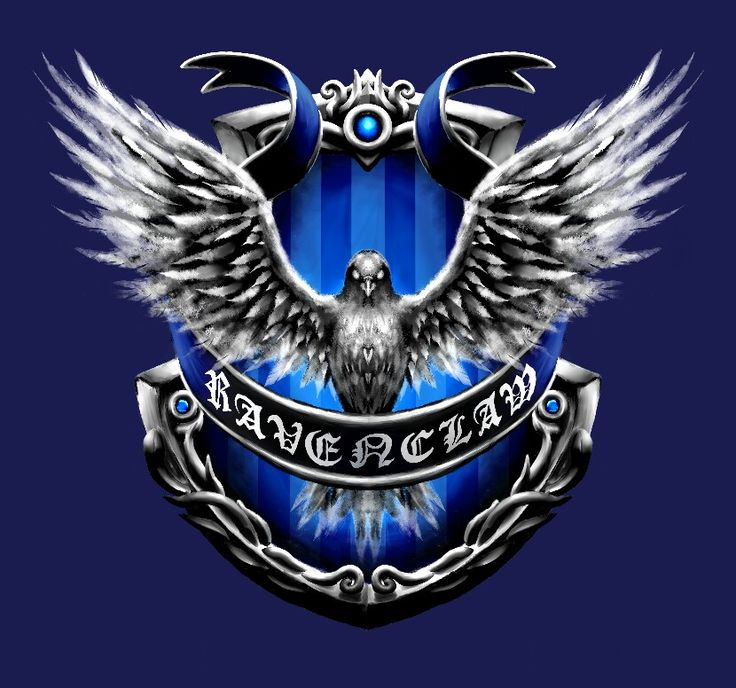 Ravenclaw crest by ZephyrXenonymous