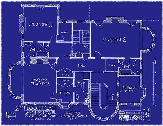 1120 westchester pl 2nd floor plan flickr photo sharing - Blueprints For Houses