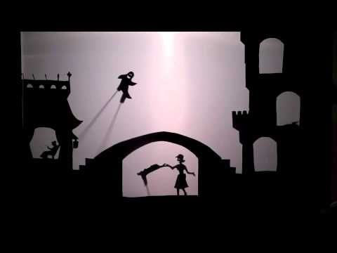 Three Silly Ghosts Shadow Puppet Show - YouTube