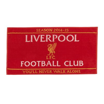 LFC Season Towel. Was £15, now £7.50.