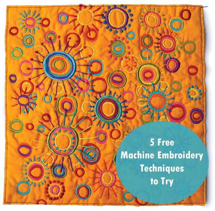 49 best Embellishment Techniques images on Pinterest | Embroidery ... : quilting daily - Adamdwight.com