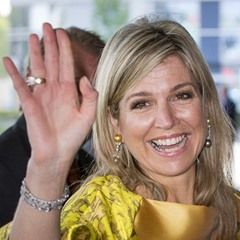 Queen Maxima opens the first anniversary congress of the Pension Federation