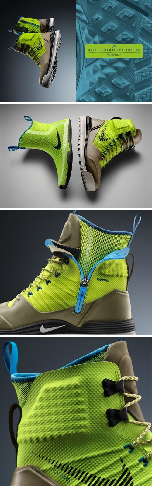 what? Where am I going? And also... What am I supposed to be doing in these? Ummm. Idk and idgaf look at the colors! Gimme! Nike LunarTerra Arktos all weather boot