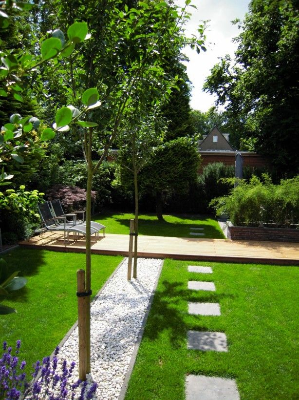 37 best white pebbles images on pinterest gardening for Courtyard landscaping perth