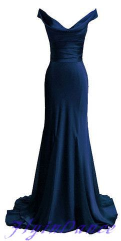 Navy Blue Prom Dresses,Mermaid Prom Dress,V Neckline Prom Dresses,2016 Party Dress,Mermaid Prom Gown