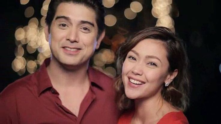 "This is the handsome Ian Veneracion and the pretty Jodi Sta. Maria singing ""Nana nanana nanana Thank you, thank you for the love"" with the cast of Pangako Sa 'Yo during the taping of the ABS-CBN 2015 Christmas Station ID, ""Thank You for the Love!"" Indeed, Ian and Jodi are a perfect loveteam. #IanVeneracion #JodiStaMaria #PangakoSaYo #ABSCBNChristmasStationID #ThankYoufortheLove"