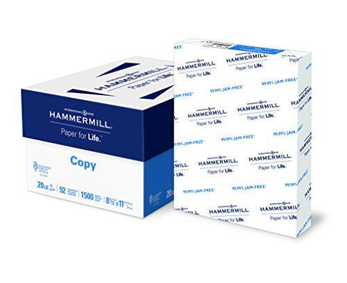Hammermill Paper Copy Paper 8 5 X 11 Paper Letter Size 20lb Paper Hammermill Printer Paper Paper For Every Da Copy Paper Printer Paper Letter Paper