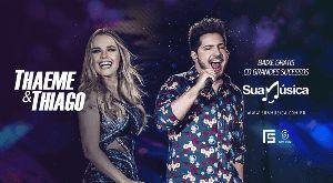 Capa do CD Thaeme & Thiago / CD Grandes Sucessos