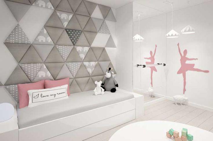 panele tapicerowane, dekoracyjne, ścienne, PANELE 3D, interior design, nowoczesne wnętrze, pokój dziecięcy