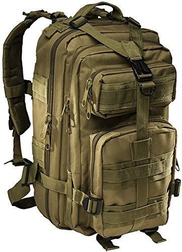 Small Tactical Assault Military Backpack -2.5 Liter Hydration Water Bl – monkeypaks
