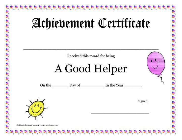 18 best Teaching images on Pinterest School, Award certificates - school certificates pdf