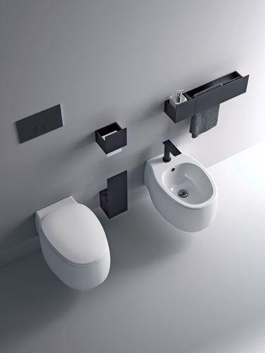 Agape - toilet and bidet - Pear2_sen_alto_r2