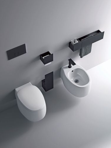 Agape - toilet and bidet - Pear2_sen_alto_r2