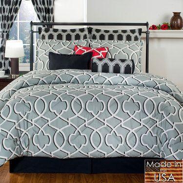Genoa Abstract Comforter Bedding