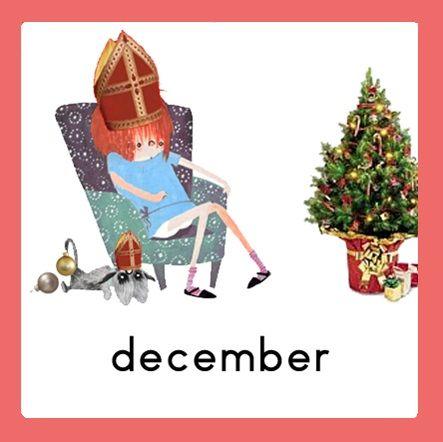 Jaarkalender Floddertje: december