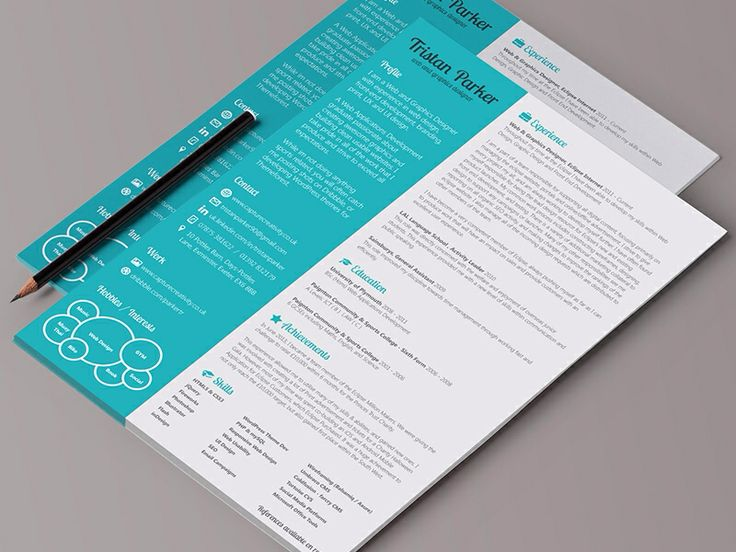 216 best CV images on Pinterest Creative cv, Design posters and - landscape resume