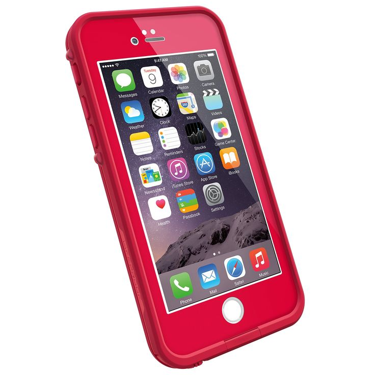 Lifeproof fre Waterproof Case for Apple iPhone 6, Cherry
