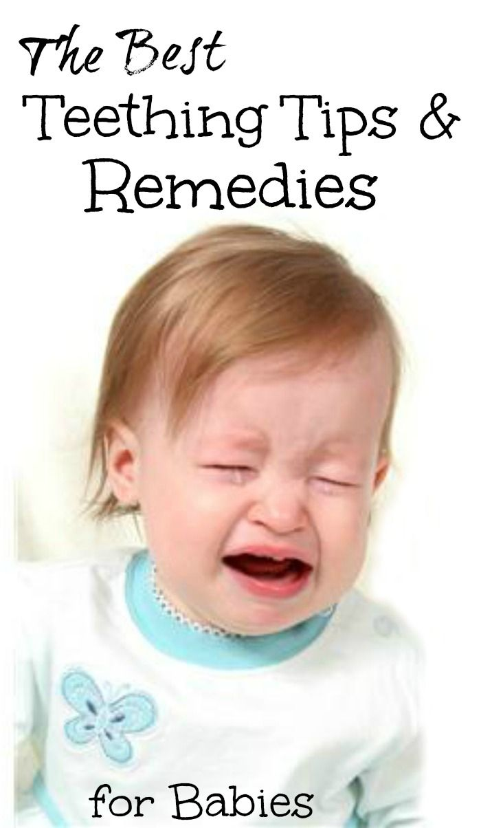 teething tips and remedies.