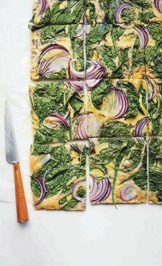 Baked vegetable omelet... YUM!