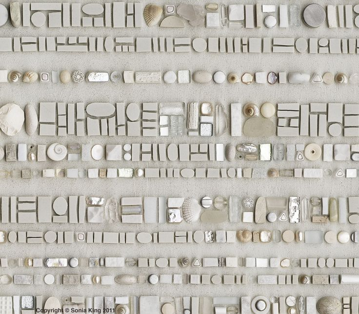 Sonia King's Coded Mosaic Message from her website: http://www.mosaicworks.com/