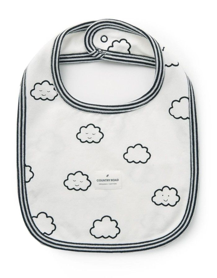 Clouds Unisex Bib
